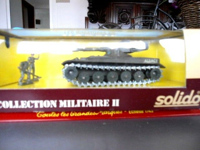 SOLIDO MILITAIRE METAL 1 50 IN BOXE Nº 6058 AMX 13 105