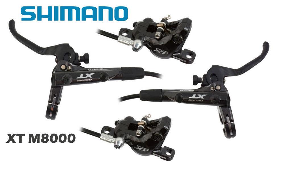 SHIMANO COPPIA FRENI DEORE XT M8000