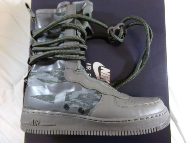 check out 0d9ed eb85a Mens Nike SF Air Force 1 High Boots Ridgerock Black Sequoia Size 10.5  AA1128-203