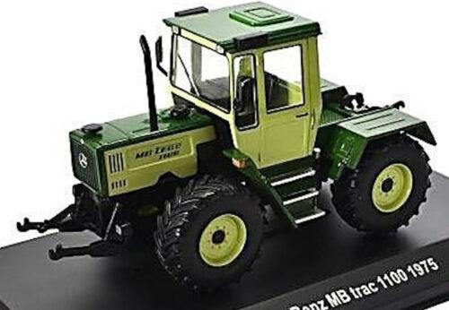 MERCEDES BENZ MB TRAC 1100-1975 Tracteur Remorqueur Vert Green 1:43