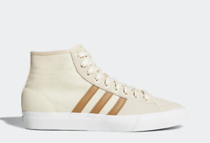 NEW adidas MATCHCOURT HIGH RX SHOES B22785 Linen   Raw Desert   Ecru Tint sp1
