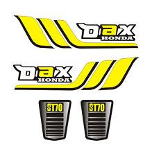Kit 4 Stickers plastifiés DAX Honda type origine