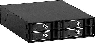 "Aluminum(5.25"" to 4x2.5"" SAS/SATA 6.0G HDDs)(Hot-Swap Cage Backplane) RW-425 NEW"