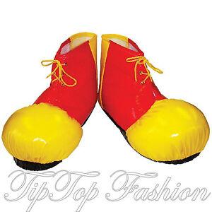 Banderolas Nuevo Payaso Fundas Zapato Para Detalles Grande Accesorio De Disfraz Circo Ny0v8nwmO