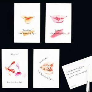 Lot-of-30-Postcard-Kiss-Your-Rosy-Lips-Photo-Picture-Envelope-Post-Cards