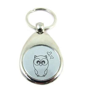 Eule Owl Schlüsselanhänger Anhänger Aus Metall Bronze Kaufen Sie Immer Gut Sonstige