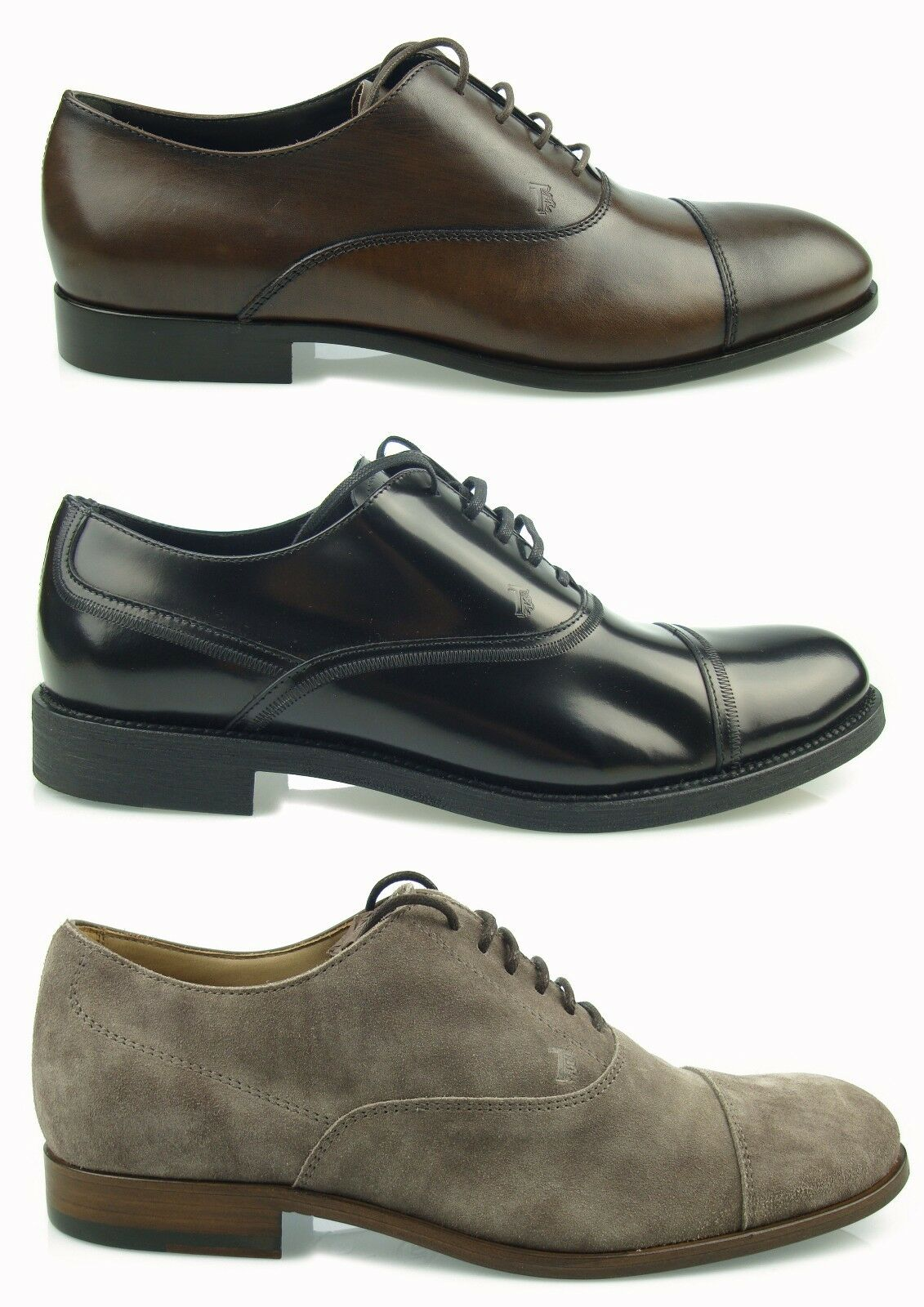 shopping online e negozio di moda  550 TOD'S SCARPE UOMO Uomo scarpe OXFORD OXFORD OXFORD LACE UP LEATHER NUOVE 100%AUTENTICH MG1  prima qualità ai consumatori