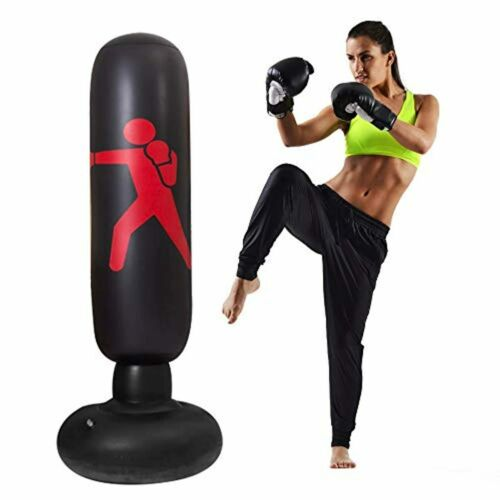 ✅ A Free-Standing PROFESSIONAL PUNCHING BAG For Kids Boy Girl Youth Adults Wom