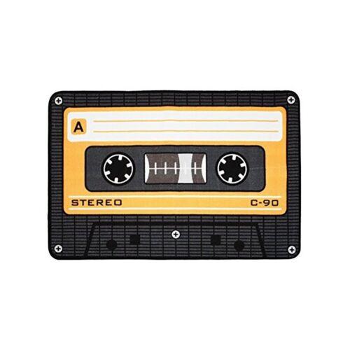 Tape // Kassette // MC Orange Fussmatte // Teppich 50 x 80 cm 100842