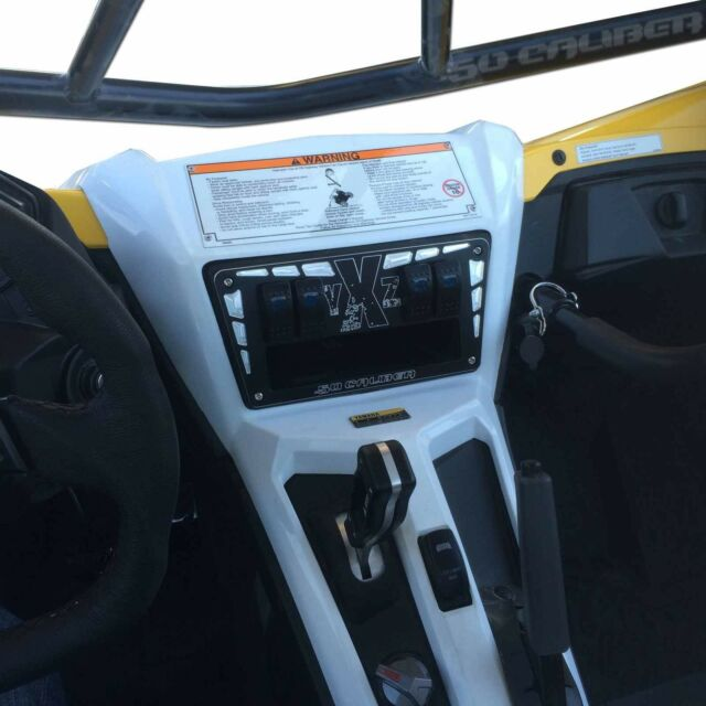YXZ Dash Panel 1000R UTV Yamaha Black Performance Part Billet Aluminum CNC New