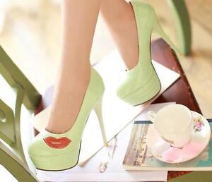 853c8a4e41a1 Caricamento dell'immagine in corso Stiletto-Scarpe-decolte-eleganti-donna- spillo-plateau-13-