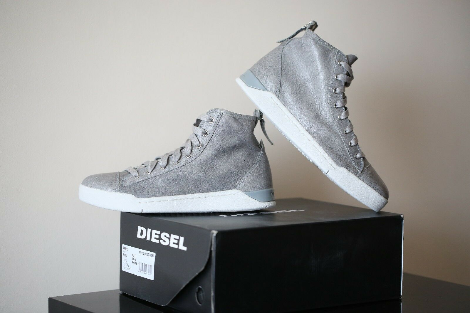 Diesel DiamondGris New DiamondGris Diesel Chaussures 37f060