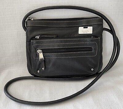 Tignanello Crossbody Shoulder Bag Black