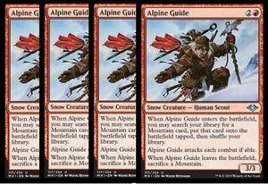 MTG Magic 4x Alpine Guide Modern Horizons NM