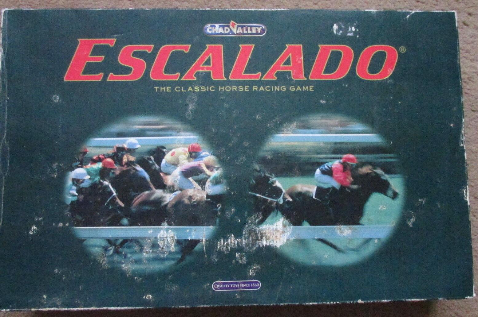 ESCALADO CHAD VALLEY COMPLETE BOARDGAME GAME FAMILY VGC BOARD RPG