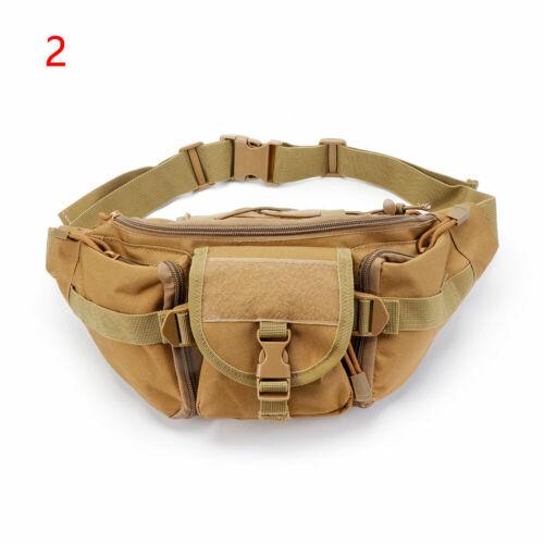 Tactical Fanny Pack Bumbag Waist Bag Military Hip Belt Outdoor Hiking Fishing