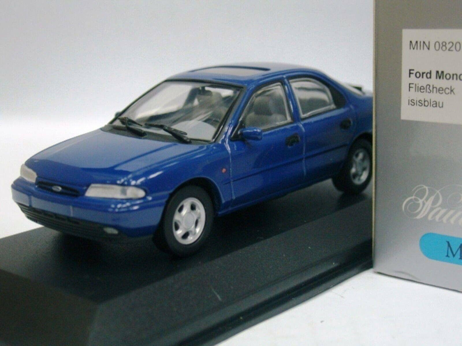 Wow extrêmement rare Ford Mondeo Mk1 2.0 hayon 1992 bleu 1 43 Minichamps-RS GT