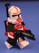 LEGO® STAR WARS™ 75046 Deluxe RED CLONE SHOCK TROOPER™ Commander + Armor & More!