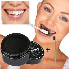 Für weißere Zahn Pulver Organisch Aktivkohle Bambus Zahnpasta edel entfernen