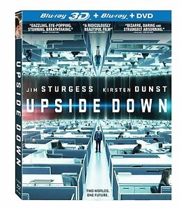 Upside Down 3D + 2D Blu-ray & DVD Combo pack (BRAND NEW!)