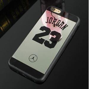 the best attitude 0e292 4fba9 Details about Case Jordan 23 Mirror Supreme Silicone Pink, White,Black,  Iphone 6 6S 7 8 Plus X