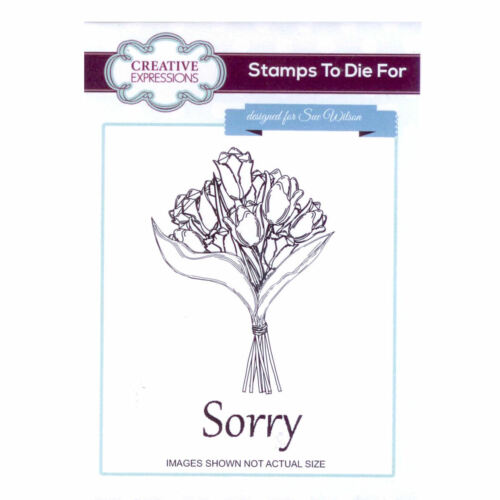 Stamps to Die For by Sue Wilson UMS658 Tulip Bouquet