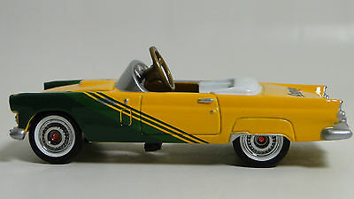1956 Ford Thunderbird Pedal Car Vintage Metal Collector Model 1955 NOT A Ride On