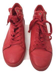 red high top Sneakers Shoe SIZE EU 41