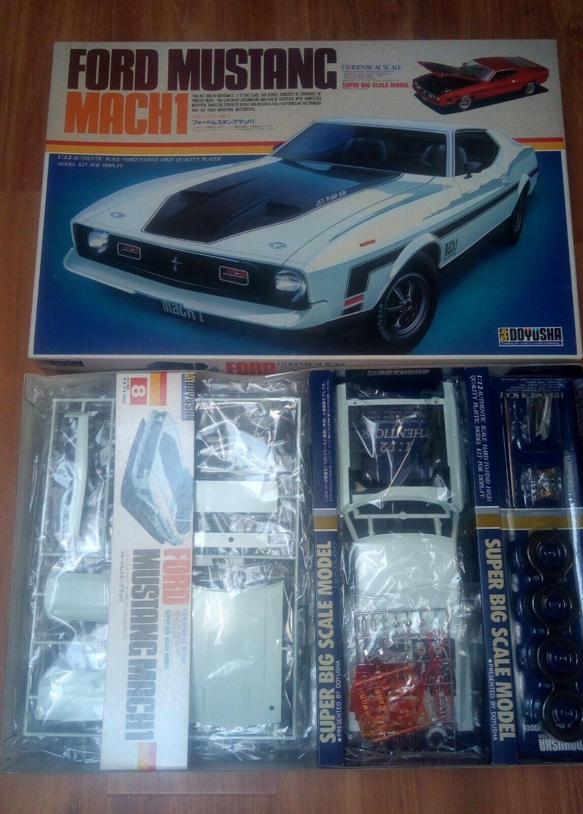 Ford Mustang Mach 1 model kit Doyusha 1 12
