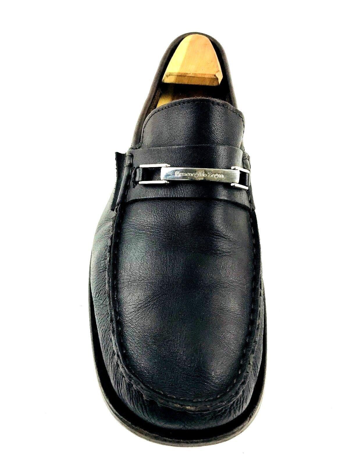 ERMENEGILDO ZEGNA braun Leather Mens Mens Mens Loafer US.11 UK.10.5 EU.44 67cf3f