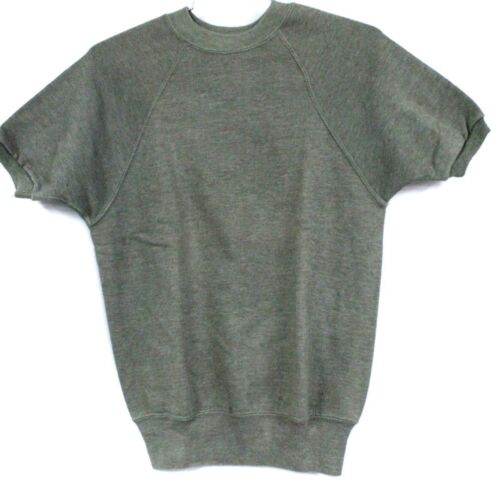Vintage 1960s Mayo  Spruce  Sweatshirt Short Sleev