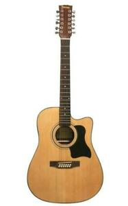 Christmas Gift ! Acoustic Electric Guitar 12 Strings Built in Tuner, EQ Natural iMusic12EQ Canada Preview