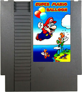 Details about Super Mario Bros  Balloon, NES Nintendo Balloon Fight Hack  High Quality! Tested