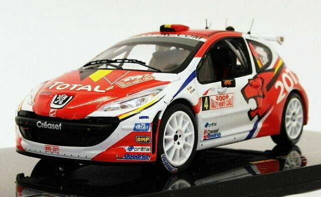 IXO RAM363 Peugeot 207 S2000 Monte Carlo Rally 2009 F Loix 1//43 Scale