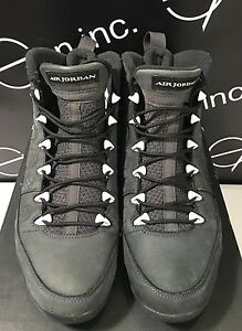 brand new c0a5d 50f73 Image is loading Nike-Air-Jordan-9-Retro-Anthracite-Authentic-Size-