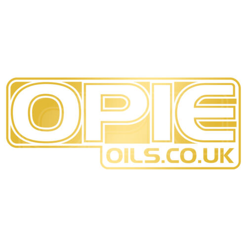 Opie Oils Decal Set 2 x Gold 6 Inch Stickers