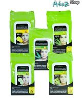 A Absolute Make-up Cleansing Tissues By Nicka-k 60ct, 5 Different Scent