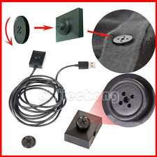 Mini Clothes Button Motion Detection DV Spy Video Camera Hidden DVR Security Cam