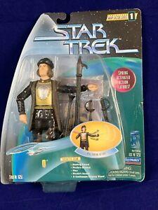 1997-STAR-TREK-Warp-Factor-Series-1-034-Q-034-Galactic-Gear-Action-Figure-NEW-SEALED