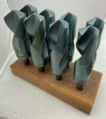 """Cobalt 1-1//8/"""" Silver and Deming Drill Bit 1//2 inch Shank"""