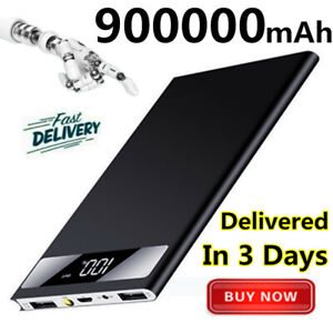 Ultra-thin-900000mAh-Power-Bank-Portable-Polymer-External-Battery-Fast-Charger