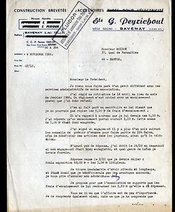 Détails Sur Savenay 44 Usine Daccessoires Tubes Pluidor Ets G Peyrichout En 1966