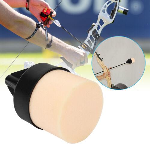 Sponge Foam Arrowhead Protection Arrow Head For Archery Hunting Shooting Black