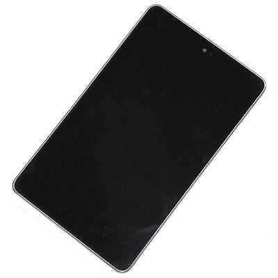 ASUS GOOGLE NEXUS 7 ME370T LCD Screen Digitizer Touch + Frame Faceplate Bezel