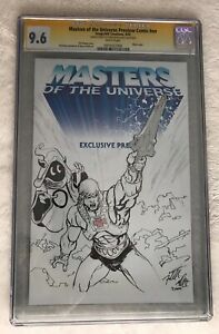 Freddie-Williams-Original-Art-Sketch-Of-He-Man-And-Orko-On-Exclusive-CGC-SS-9-6