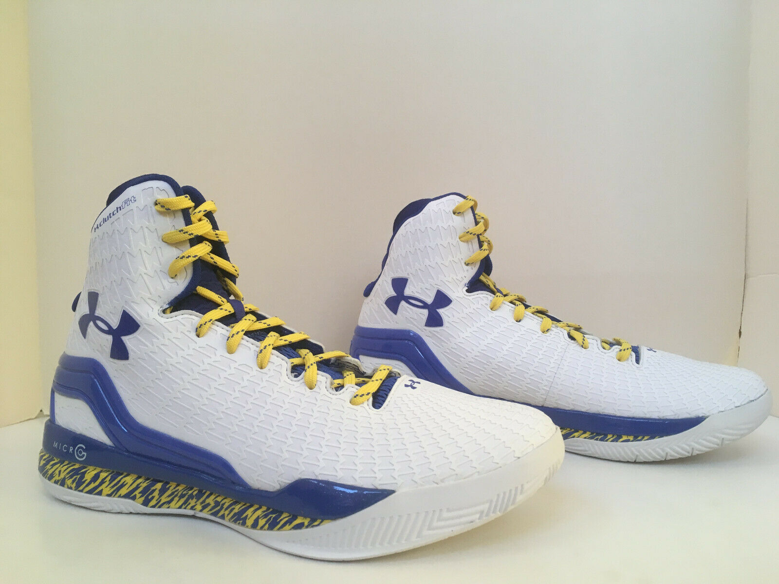 Under Armour Clutchfit Drive Drive Drive 'Curry Home' Dimensione 10.5 deadstock w receipt 425317