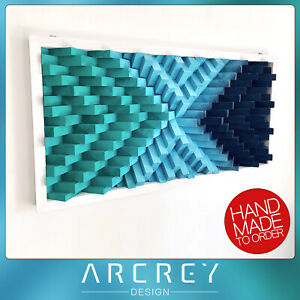 XL-3D-MODERN-WOODEN-WALL-ART-Hand-Made-Home-Decoration-Mosaic-SOLID-WOOD