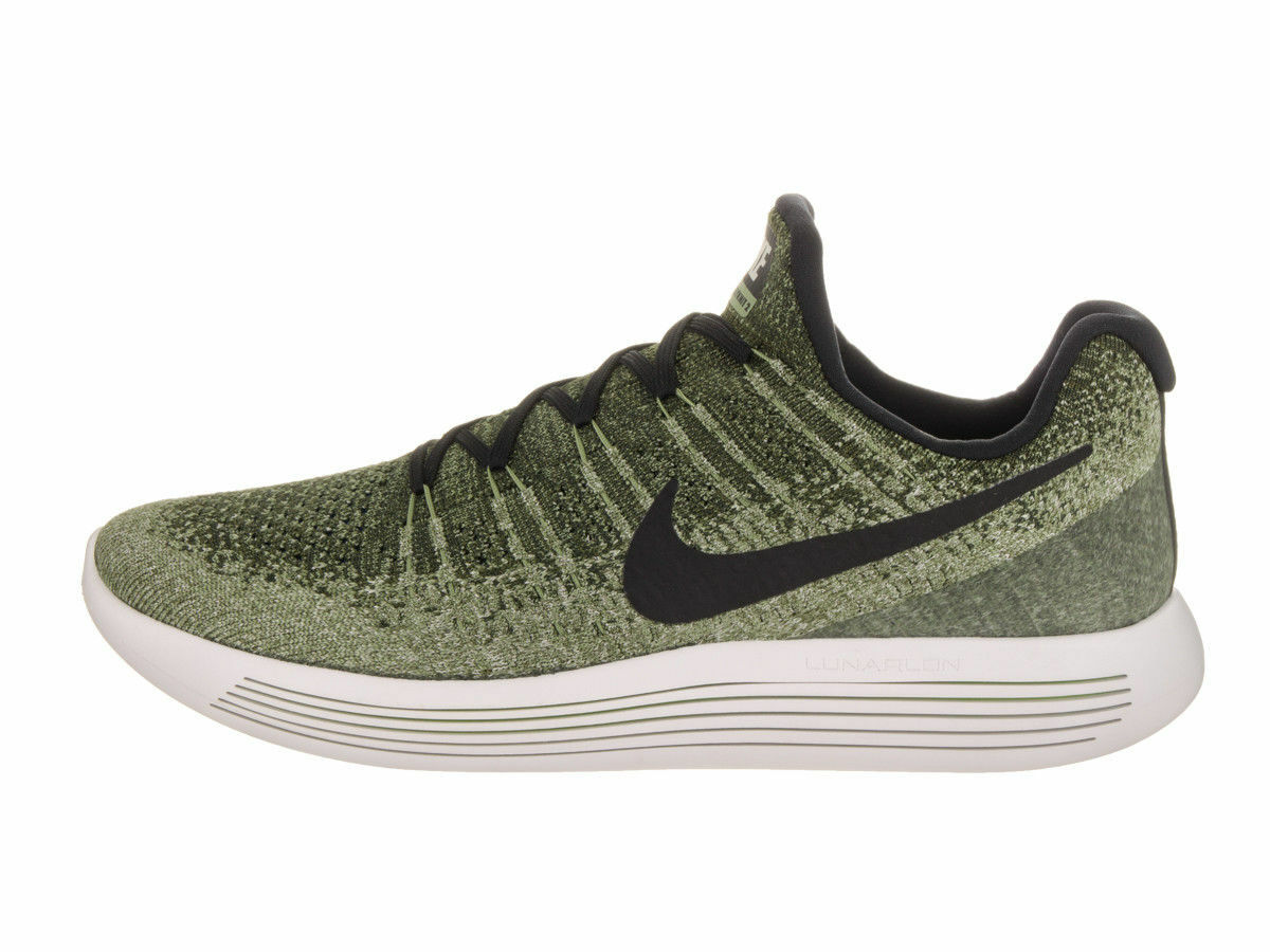 Nike Lunafogic Low  Flykned 2 Mens Running scarpe 86379 -300 Rough verde Sz 9.5 -12  all'ingrosso a buon mercato