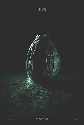 ALIEN COVENANT Original Movie Poster B Hide DS 27x40 Double Sided