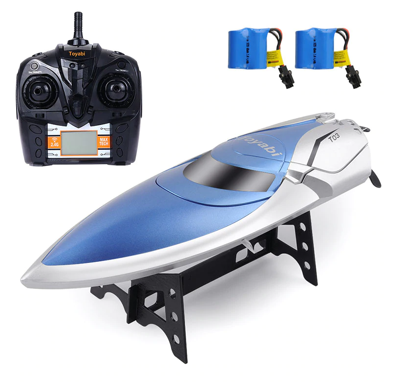 High Speed 30KM H H H RC Racing Boat c435a2